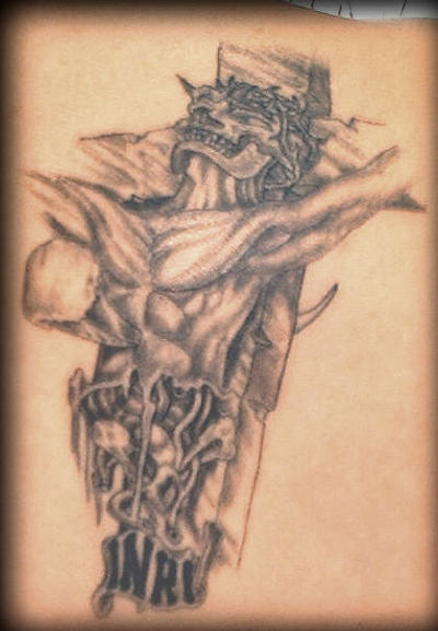Religious Tattoo Design